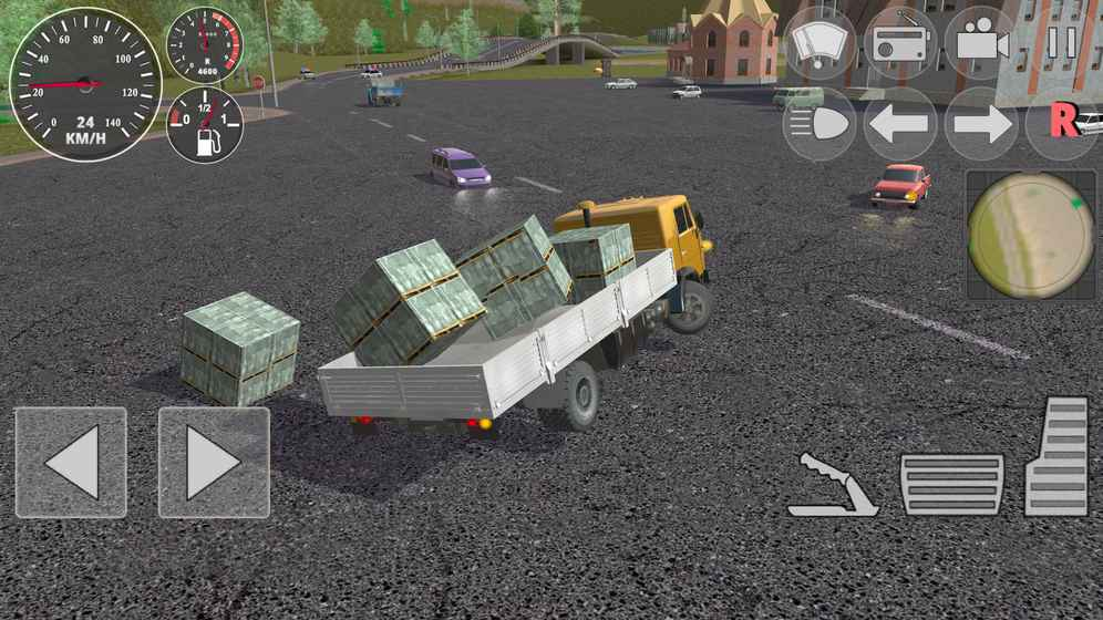 交通硬卡车模拟器