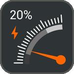 时速表电量显示(GaugeBatteryWidget)