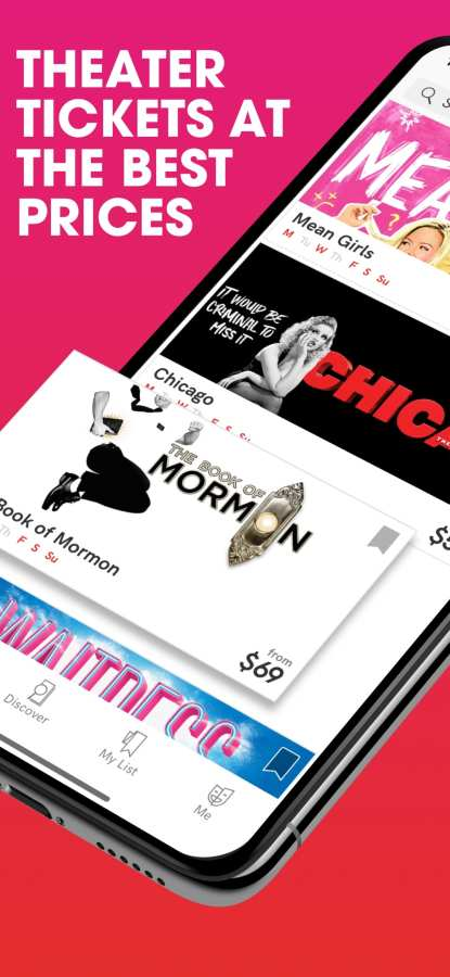 TodayTix—百老汇和全美剧院优惠票
